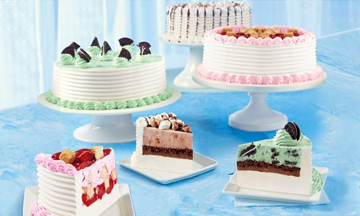 45Off Ice Cream Cakes Or Blizzard Cupcakes At Dairy Queen