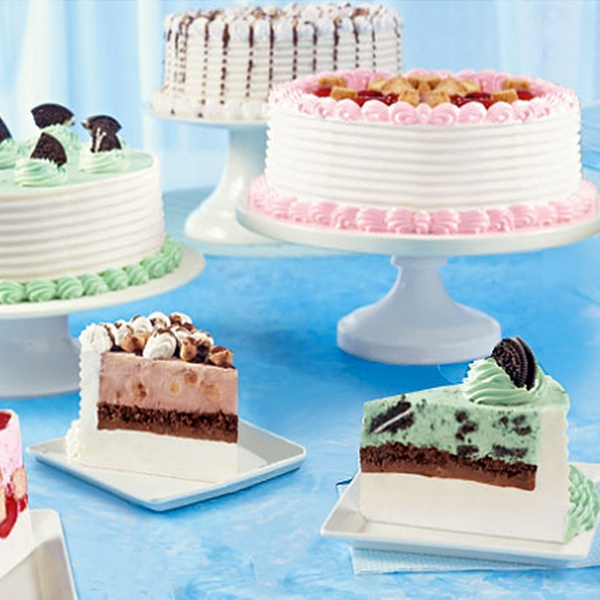 Peachy Ice Cream Cake Or Cupcakes Dairy Queen Kitsilano Groupon Personalised Birthday Cards Bromeletsinfo