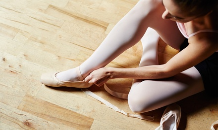 $22 for One Month of Ballet Classes at World Ballet ($45 Value)