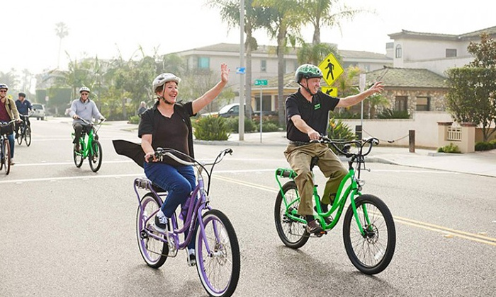 Pedego Greater Long Beach - Pedego Greater Long Beach: $50 for Two All-Day Pedego Electric Bike Rentals at Pedego Greater Long Beach ($100 Value)