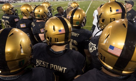 College Football Game Between Army and University of Connecticut at Yankee Stadium on November 8 (Up to 47% Off)