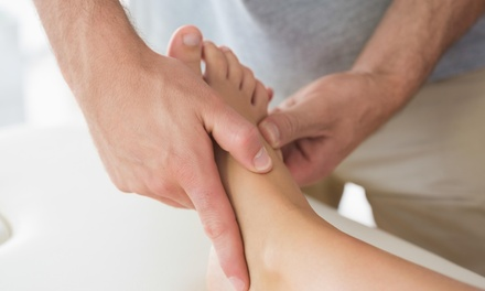 45% Off a Massage with Relexology Treatment