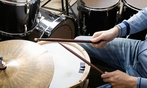 Matt Burk Music Studio: Four or Six Weeks of Private Drum Lessons at Matt Burk Music Studio (Up to 54% Off)