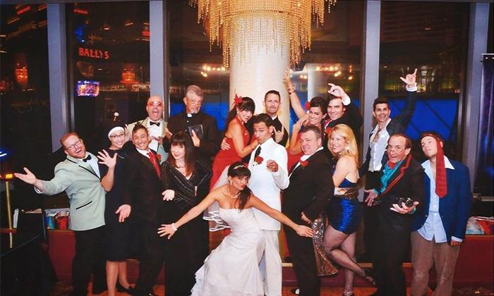 """""""Tony and Tina's Wedding"""" - Bally's Windows Showroom: """"Tony N' Tina's Wedding"""" Through September 21, 2016"""