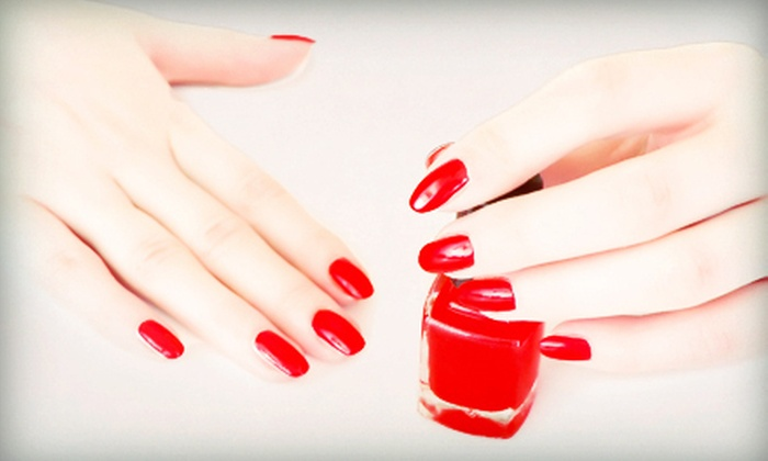 BC Nails - Waterfront at Oakmond: Pedicure or Shellac Manicure at BC Nails (Up to 52% Off)