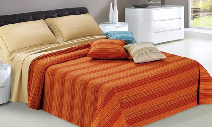 Telo arredo per letto o divano groupon goods - Teli copridivano ...