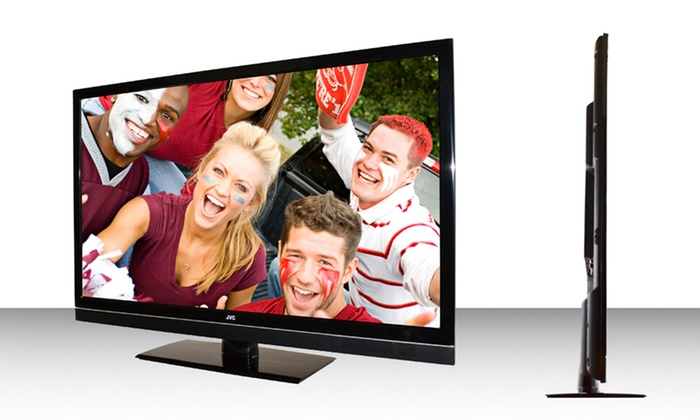 "JVC 42"" Black Crystal Series LED HDTV: JVC 42"" Black Crystal Series 120Hz 1080p LED HDTV (JLE42BC3500). Free Returns."