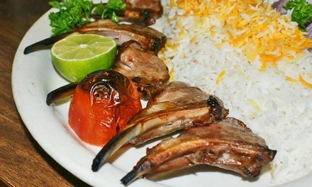 $16 for $30 Worth of Persian Fare and Drinks at Famous Kabob