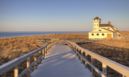 Stay with Optional Drinks or Romance Package at Bayside Resort Hotel in Cape Cod, MA. Dates into April 2018.