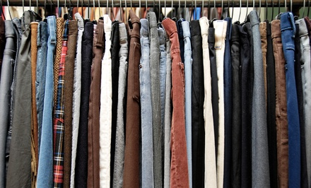 Gently Used Apparel and Accessories at ThriftSmart (Up to 53% Off). Two Options Available.