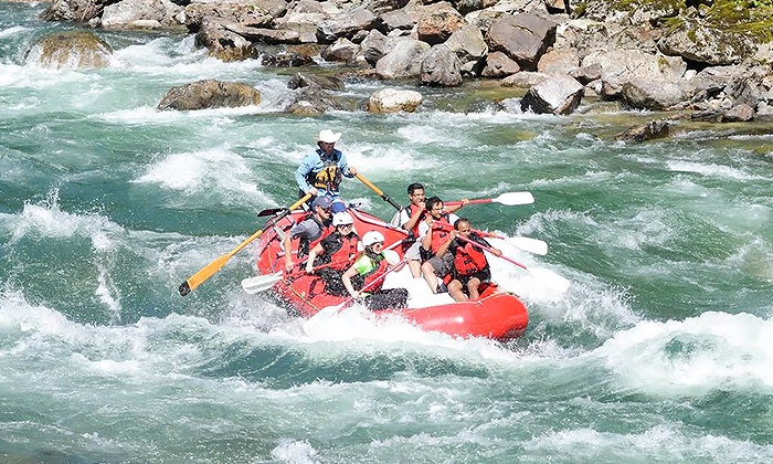 Triad River Tours - Marblemount: Introductory Whitewater Rafting Tour for One, Two, Four, or Six at Triad River Tours (Up to 57% Off)