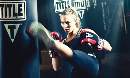Two Weeks of Boxing or Kickboxing Classes for One or Two at TITLE Boxing Club (Up to 51% Off)