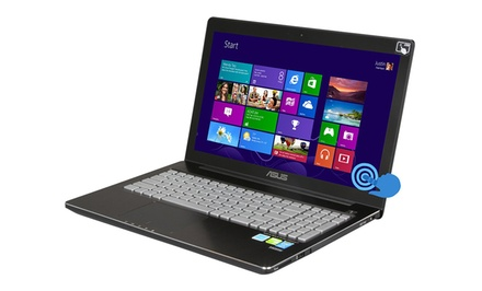 how to access cd drive from an asus laptop