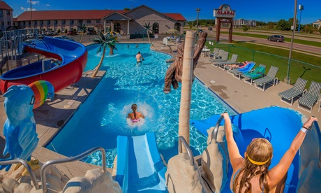 2-Night Stay for Up to Four in a Two-Queen Room at Alakai Hotel & Suites in Wisconsin Dells, WI with Noah's Ark Included photo