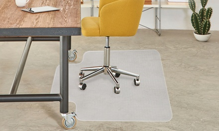 From $39 for an Office Chair Carpet Floor Protector Mat (Don't Pay up to $79)