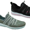 Sociology Women's Stretch Strap Athleisure Walking Shoes