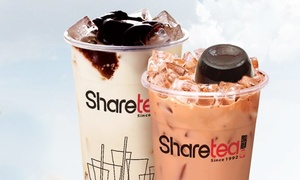 Sharetea Richmond Hill: CC$9 for CC$15 Worth of Regular Sized Drinks at Sharetea Richmond Hill