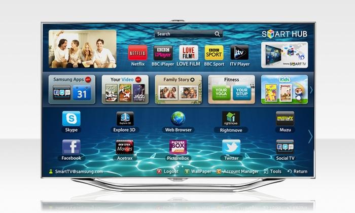 Samsung 46'' 1080p 3D Slim LED HDTV: $1,249.99 for a Samsung UN46ES8000 46' 1080p 3D Slim LED HDTV ($2,659.99 List Price). Free Shipping and Returns.