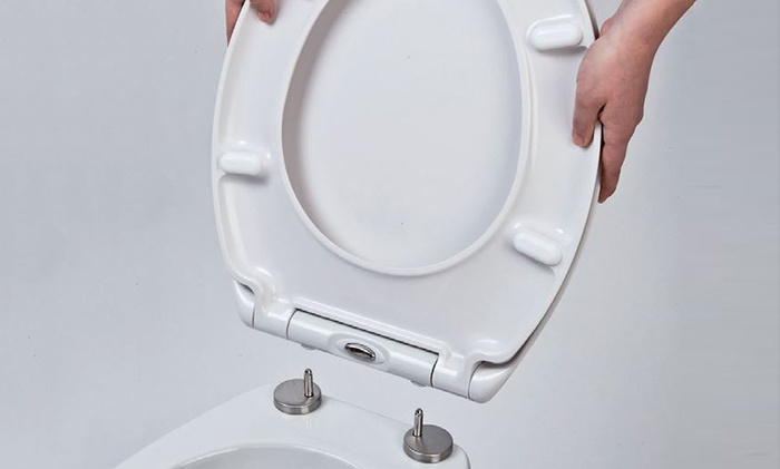 Soft toilet seat fetish