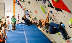 Progression Climbing: Intro Bouldering Class, Two-Week Pass, and Gear Rentals for One or Two at Progression Climbing (Up to 62% Off)