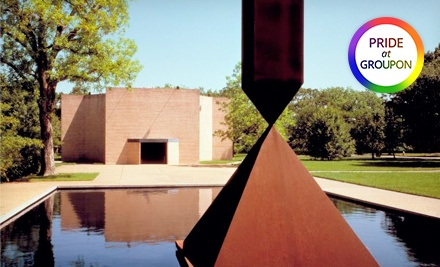 One Year Individual or Family Membership to Rothko Chapel (Half Off)