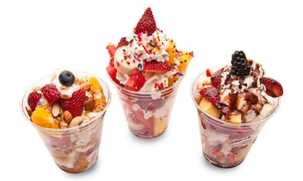Two- or Five-Punch Card, with Each Punch Good for $12 Worth of Fruit Cups at Mister FruitCup (Up to 52% Off)