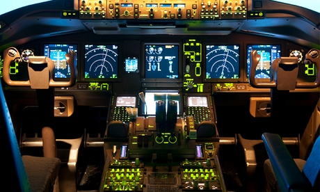 Experience: One Hour on Flight Simulator For just: £69.0