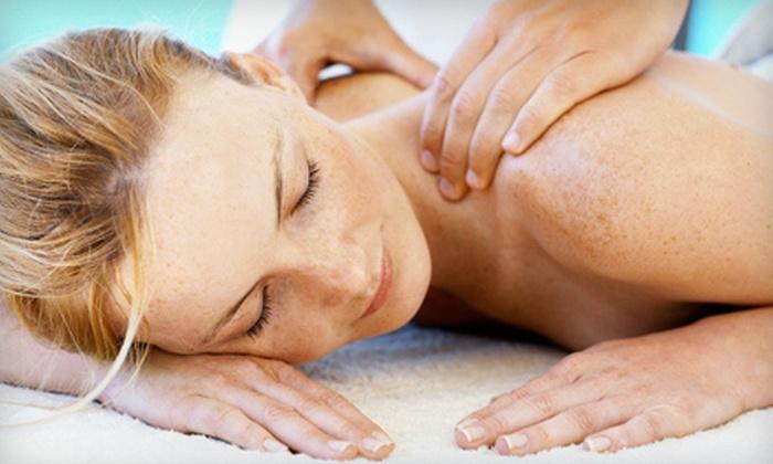 HMCR Massage - Whiteoak: 60-Minute Swedish or Neuromuscular Massage or 90-Minute Hot-Stone Massage at HMCR Massage (Up to 56% Off)