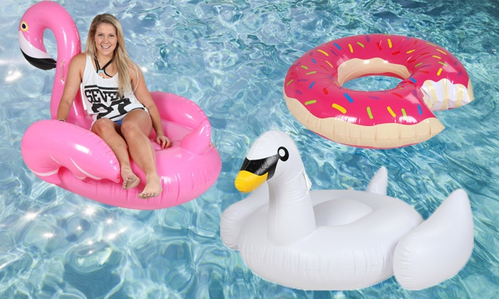 1 Day: Inflatable Pool Toy For Adults   Donut ($29), ...