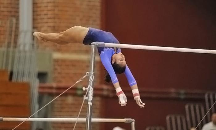 UCLA Women's Gymnastics - Pauley Pavilion: $6 for a UCLA Women's Gymnastics Dual Meet for One at Pauley Pavilion on February 8 or 22 ($14.45 Value)