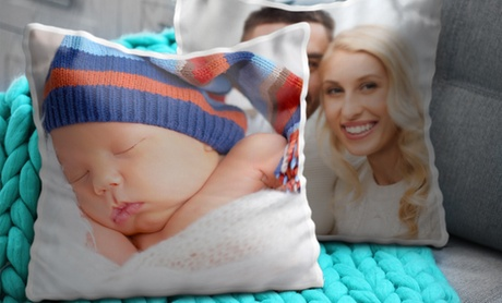 One, Two, Three, or Four Custom Photo Cushion Covers with Optional Filling from CanvasOnSale.com (Up to 88% Off) 4728e96c-9af9-4e7b-8b1f-34ed231f21fd