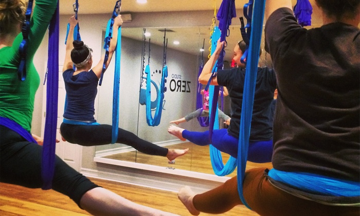 Studio Zero G - St Cloud: Three or Five 60-Minute AntiGravity Yoga Classes (Up to 61% Off)