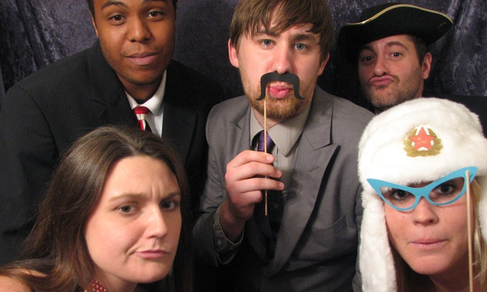 RST Photo Booth - Greenbrier East: Two- or Four-Hour Photo-Booth Rental from RST Photo Booth (53% Off)