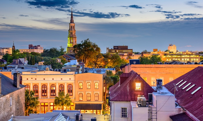 Damn Yankee Tours - Downtown: Admission for One, Two, Four, or Six to Guided Walking Tour of Charleston from Damn Yankee Tours (Up to 59% Off)