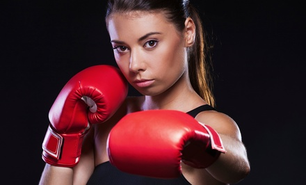 10 or 20 Strike-Zone Boxing Classes or One-Month Membership at C.O.R.E. The Center of Fitness (Up to 83% Off)
