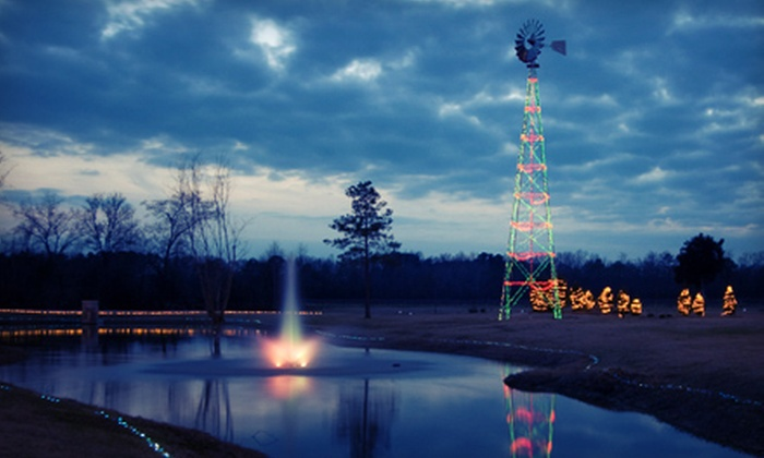Lu Mil Vineyard - Bethel: $5 for a Holiday-Light Tour for Up to Four at Lu Mil Vineyard ($10 Value). Four Options Available.