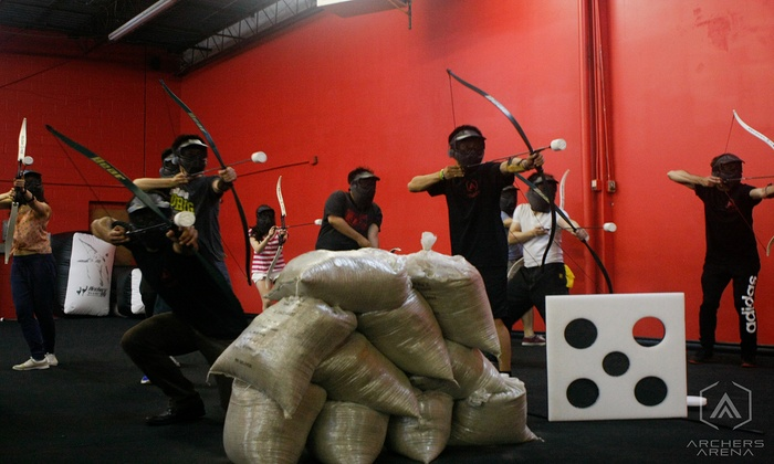 Archers Arena - North York: Up to 51% Off Archery Tag for Four or Ten People at Archers Arena