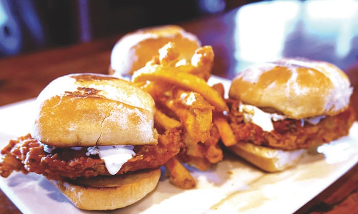 Third Base Round Rock - Round Rock: Bar Food and Nonalcoholic Drinks at Third Base Round Rock (Up to 43% Off). Two Options Available.