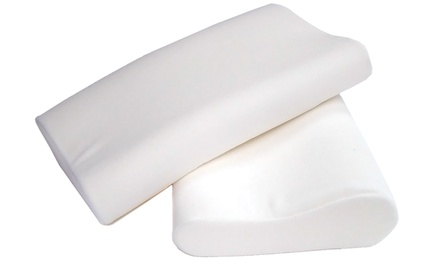 Contour Memory-Foam Pillows 2-Pack