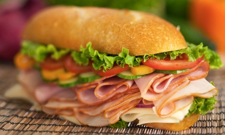 Sandwiches and Pizza Fare or Catering at Padow's Hams and Deli Glen Allen Location (Up to 50% Off)