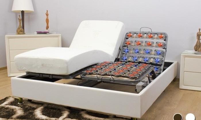 lit lectrique et matelas groupon. Black Bedroom Furniture Sets. Home Design Ideas