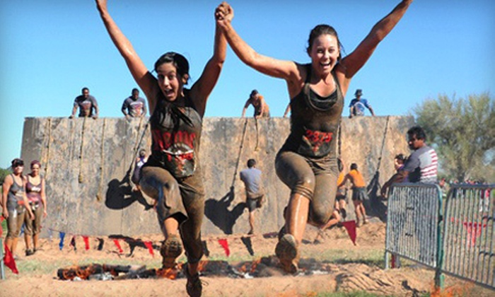 Gladiator Rock'n Run - Far West Side: $40 for a 6K Obstacle Race from Gladiator Rock'n Run on Saturday, November 9 (Up to $84 Value)