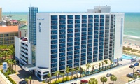 Stay at Hotel Blue in Myrtle Beach, SC. Dates into December.