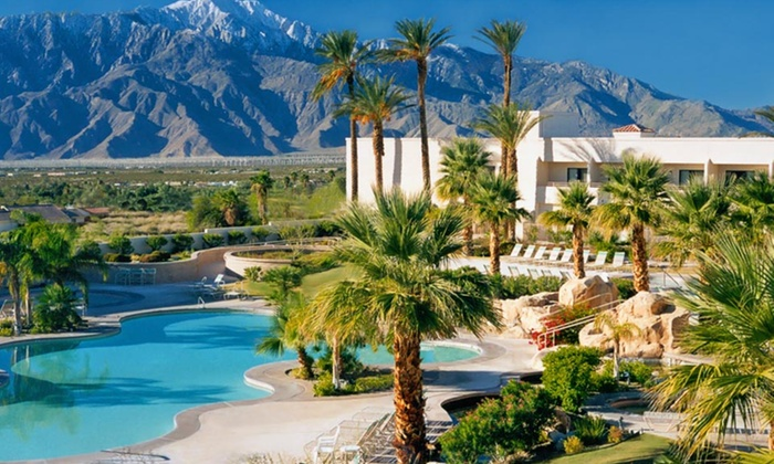 Miracle Springs Resort & Spa - Miracle Springs Resort & Spa: 1- or 2-Night Stay with Spa Credit or Partial Massage at Miracle Springs Resort & Spa in Desert Hot Springs, CA