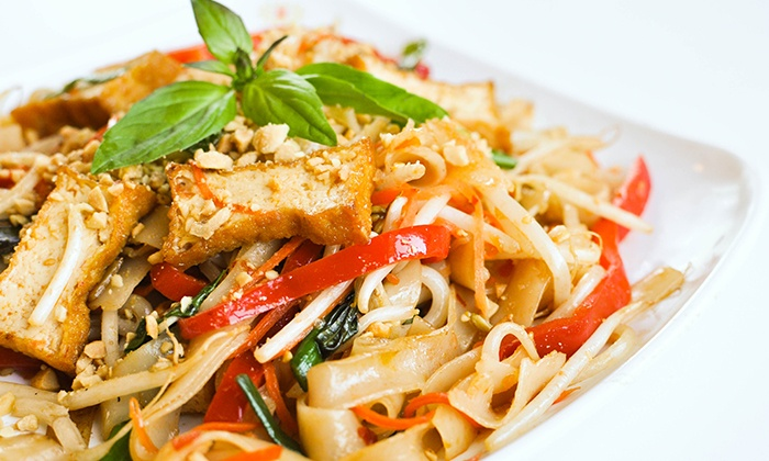 Loving Hut - Westside: $16 for $25 Worth of Vegan Asian-Fusion Food at Loving Hut