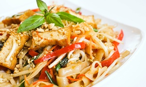 Loving Hut: $16 for $25 Worth of Vegan Asian-Fusion Food at Loving Hut