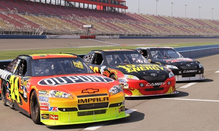 Racing Experience or Ride-Along at Rusty Wallace Racing Experience (Up to 72% Off).