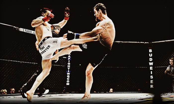 Alaska Fighting Championship - George M Sullivan Sports Arena: Alaska Fighting Championship 98: Heavyweights Collide for Two or Four at Sullivan Arena (Up to 75% Off)