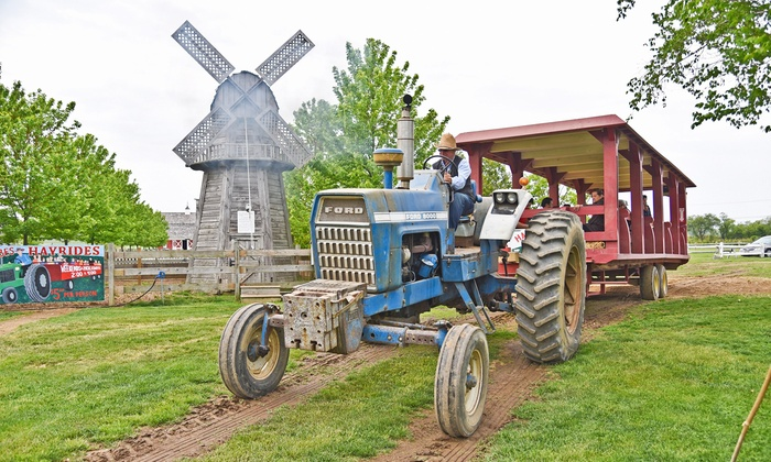 Harbes Family Farms - Mattituck: Friday, Saturday, or Sunday Barnyard Adventure for 2 or 4 at Harbes Family Farm & Vineyard (Up to 44% Off)