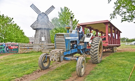 Weekend Barnyard Adventure for Two or Four at Harbes Family Farm & Vineyard (Up to 44% Off)